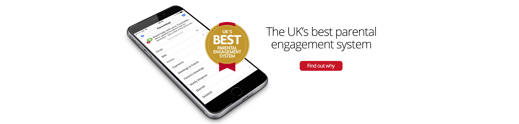 The UK's best parentalengagement system - Find out why