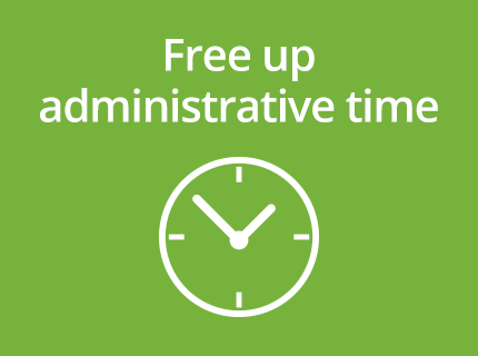 free up administrative time